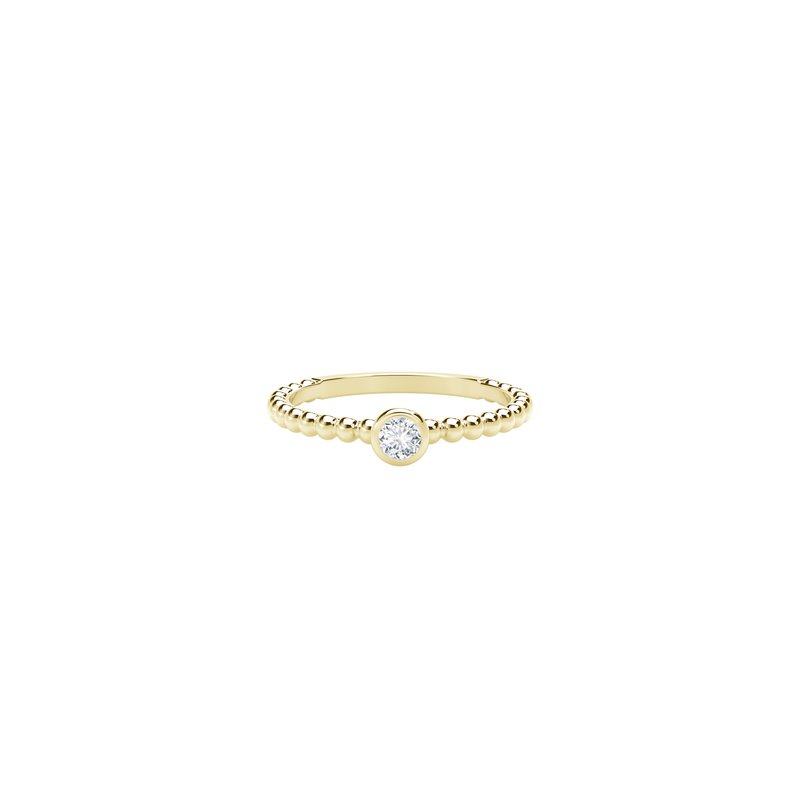 Crafted for Henry C. Reid Diamond Stackable Ring