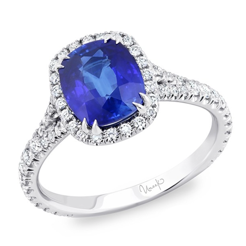 Crafted for Henry C. Reid Sapphire and Diamond Ring