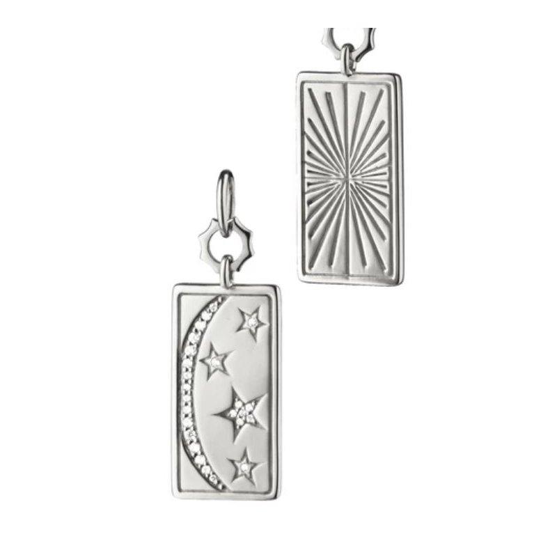Monica Rich-Kosann Sun, Moon and Stars Medallion