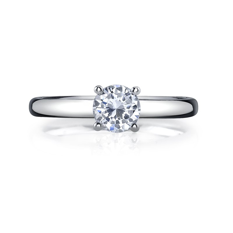 Crafted for Henry C. Reid Diamond Solitaire Ring