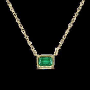 Leone Emerald Necklace