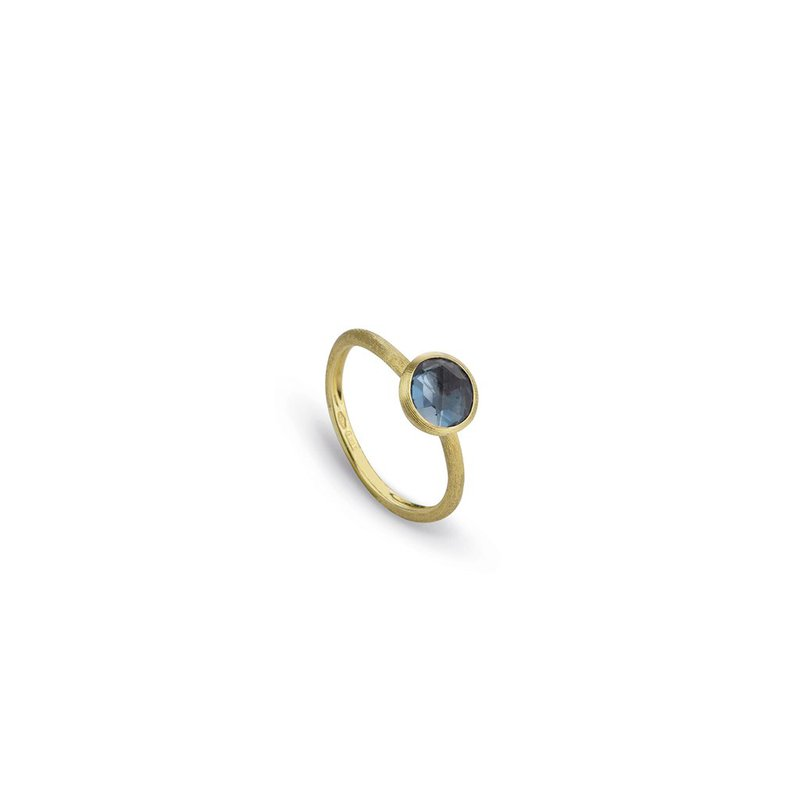 Marco Bicego  Jaipur London Blue Topaz Stackable Ring