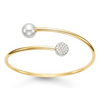 Spring Gold Cuff Bracelet