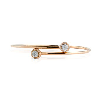 Cluster Crossover Bangle
