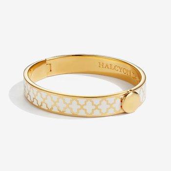 Agama Cream & Gold Bangle