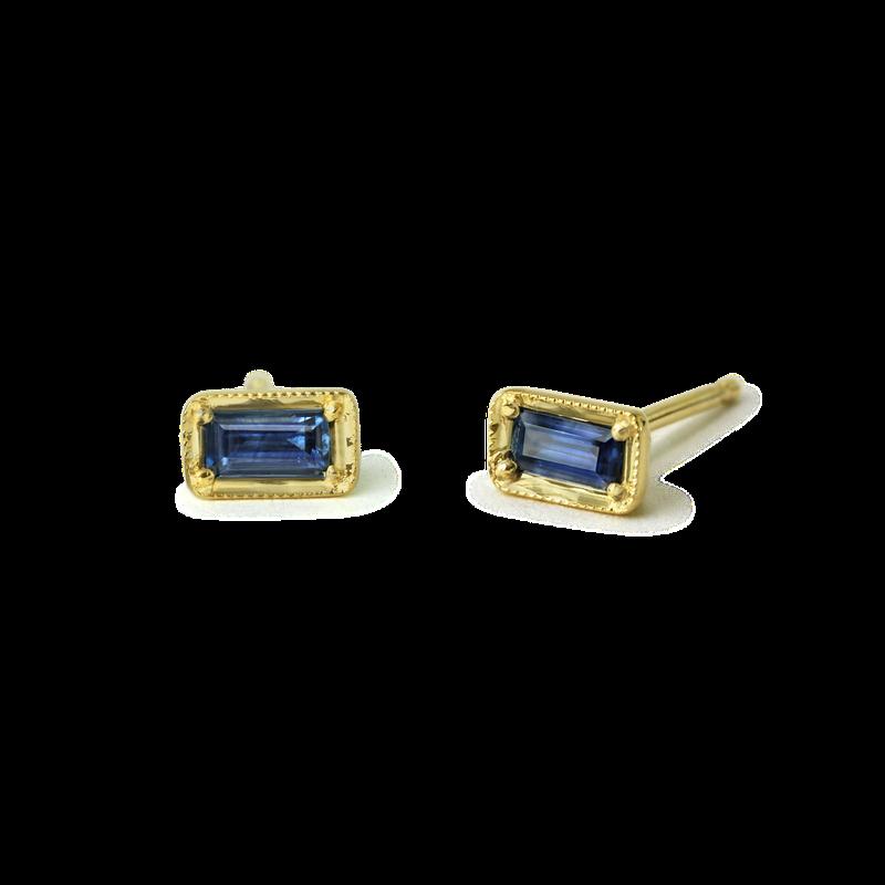 ILA Leone Sapphire Studs