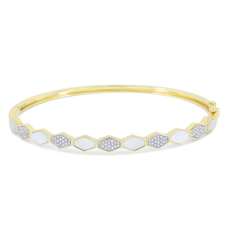 Crafted for Henry C. Reid Hexagon Bangle