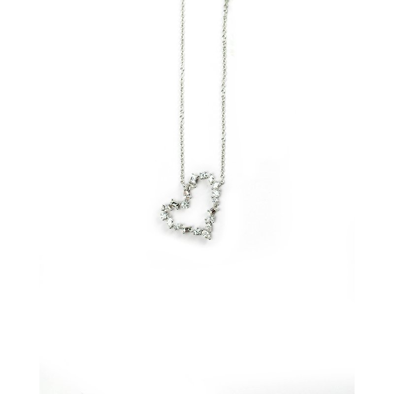 Arzano Diamond Heart Necklace