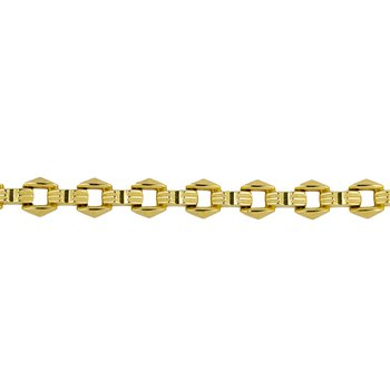 Rhombus Shaped Link Bracelet