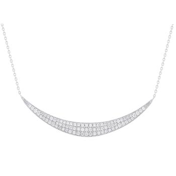Diamond Curve Necklace