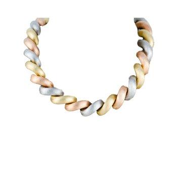 Tri-Color San Marco Necklace