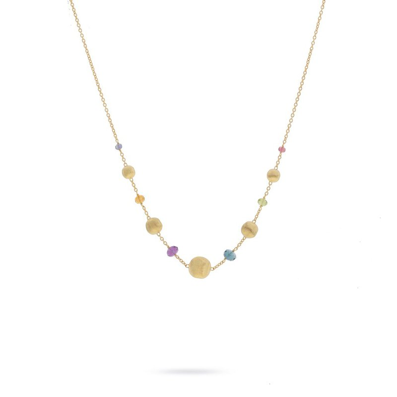 Marco Bicego Africa Gemstone Necklace