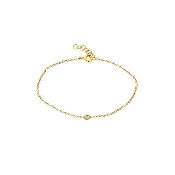 Mini Bezel Diamond Bracelet