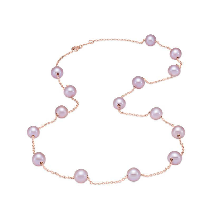 Mastoloni Pearls Tin Cup Pearl Necklace