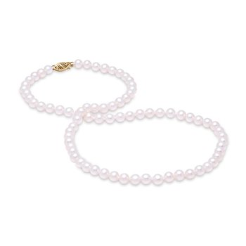 "5.5-6MM 18"" Freshwater Pearl Strand Necklace"