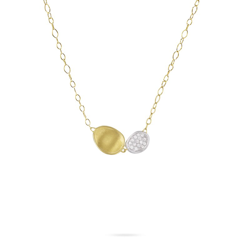 Marco Bicego Double Leaf Necklace