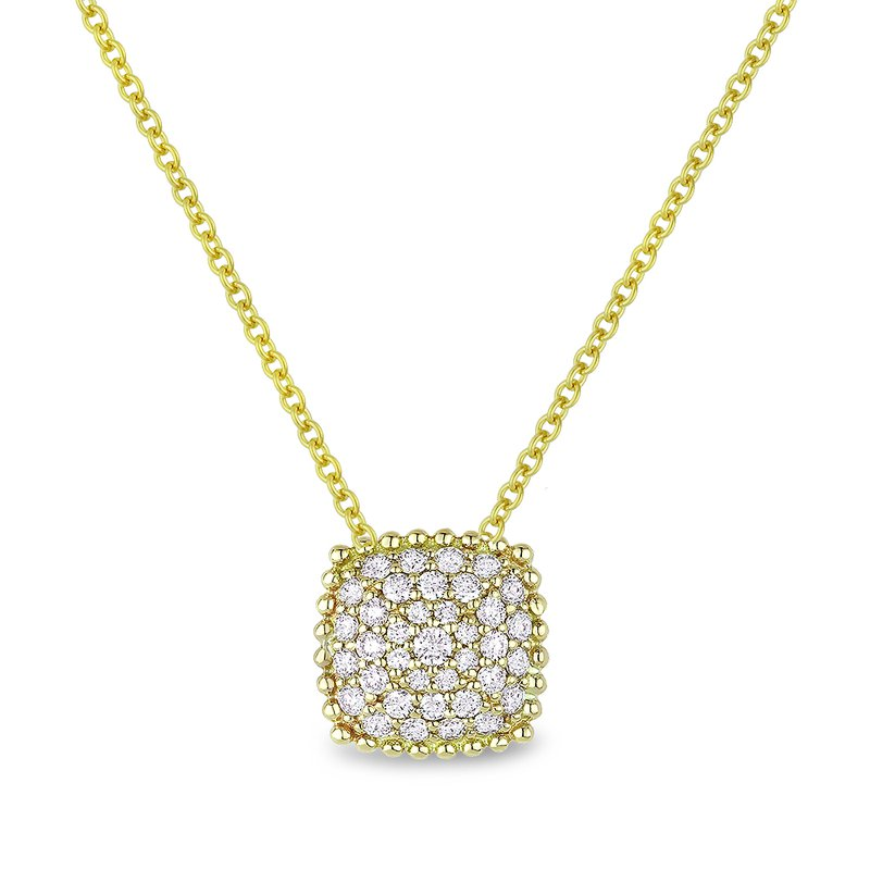 Crafted for Henry C. Reid Square Pendant