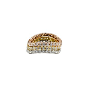 Tri-Color Stackable Rings