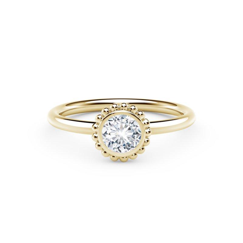 Crafted for Henry C. Reid Bezel Set Forever Ring