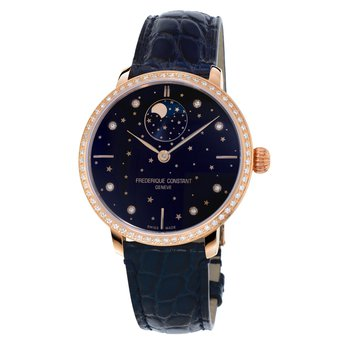 Frederique Constant Slimline Moonphase Stars Watch