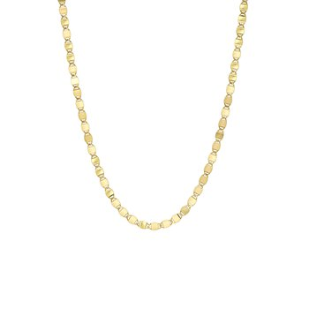 Mirror Chain Link Necklace