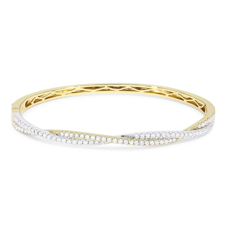 Crafted for Henry C. Reid Twisted Bangle