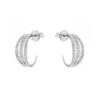 Diamond Cage Earrings