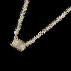 ILA Leone White Sapphire Necklace