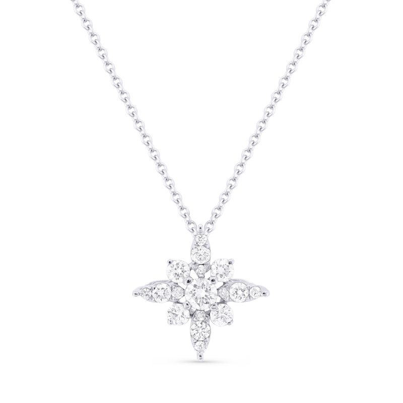 Crafted for Henry C. Reid Diamond Star Necklace