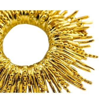 Cartier Star Burst Pin