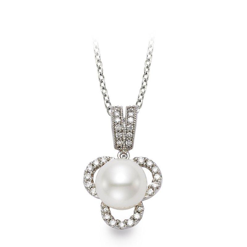 Mastoloni Pearls Clover Pearl Pendant