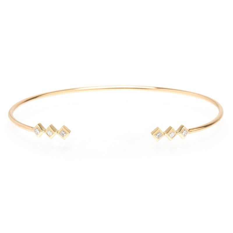 Zoë Chicco Princess Diamond Open Cuff