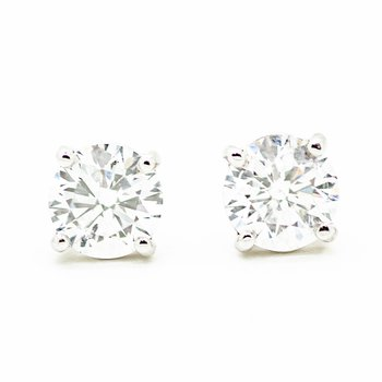 1.01ct Lab Grown Diamond Studs