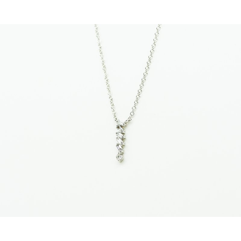 Jewelry Couture Exclusives Cascade Pendant Diamond Necklace