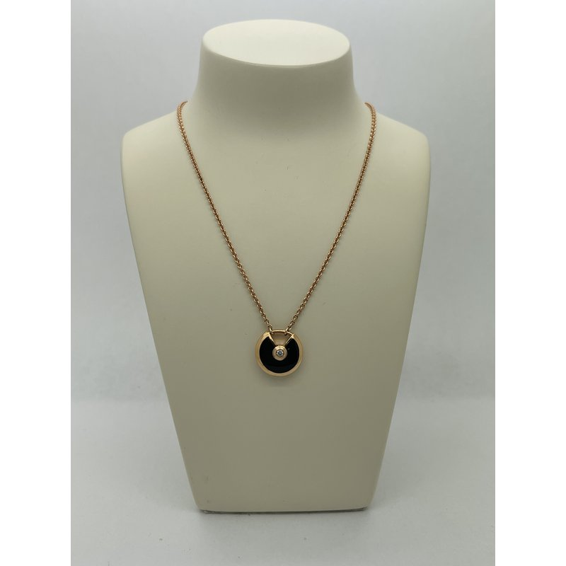 Jewelry Couture Exclusives Black Agate Necklace