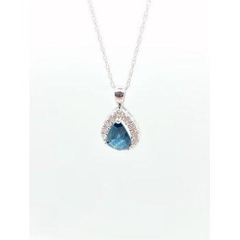 1.45CT Sapphire Pendant