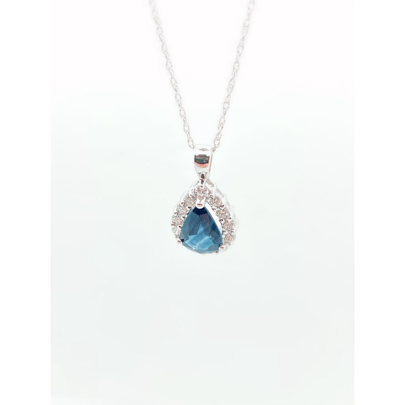 Jewelry Couture Exclusives 1.45CT Sapphire Pendant