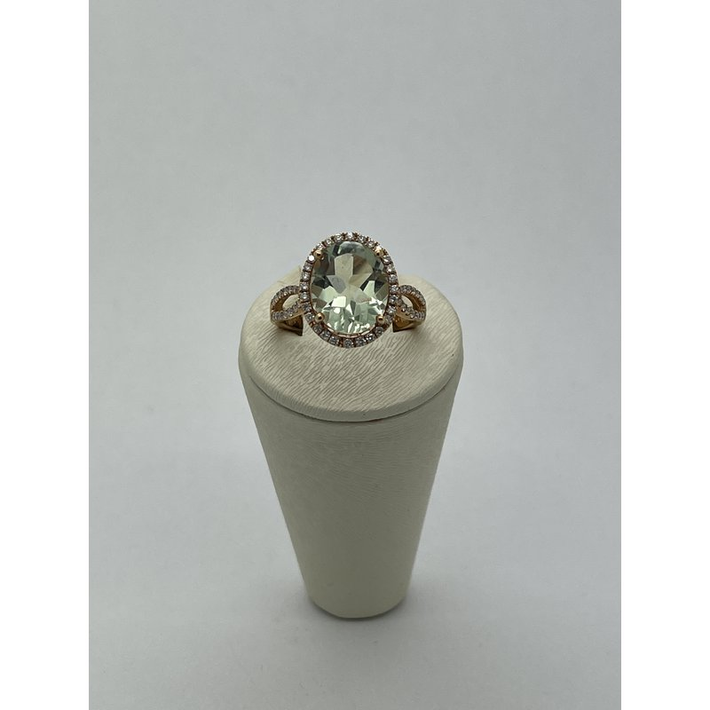 Jewelry Couture Exclusives Green Amethyst Ring