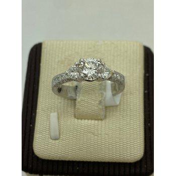 Diamond Antique Style Engagement Ring