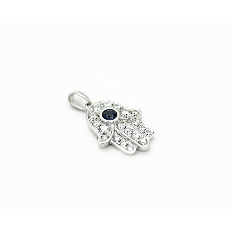 Jewelry Couture Exclusives Sapphire Hamsa Pendant