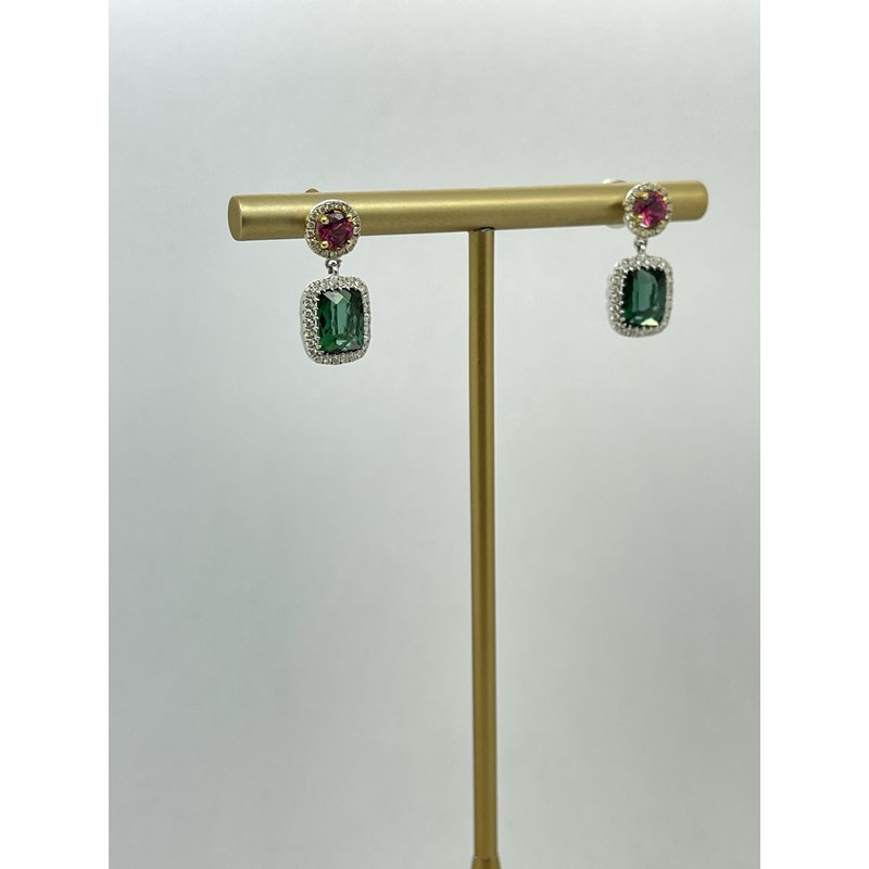 Jewelry Couture Exclusives Double Tourmaline Earrings