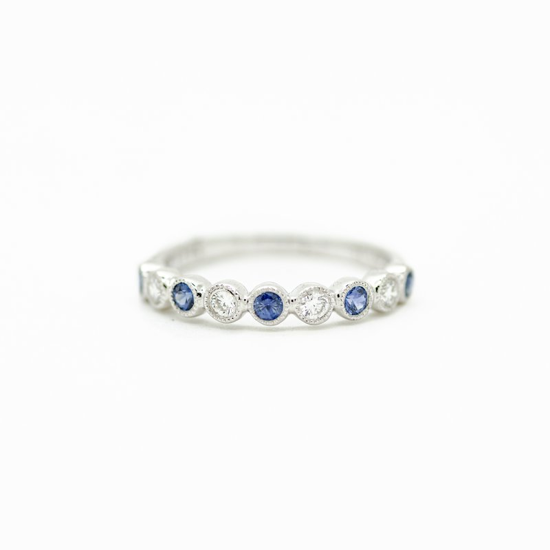 Jewelry Couture Exclusives Sapphire and Diamond Band