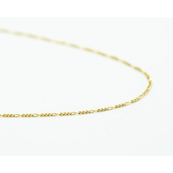 "14k Yellow Gold 16"" Figaro Chain"