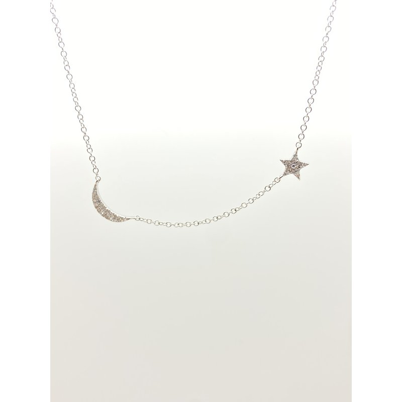 Jewelry Couture Exclusives Sun and Moon Necklace