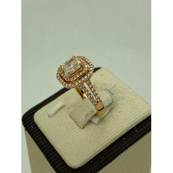 1.13ct Rose Gold Engagement Ring