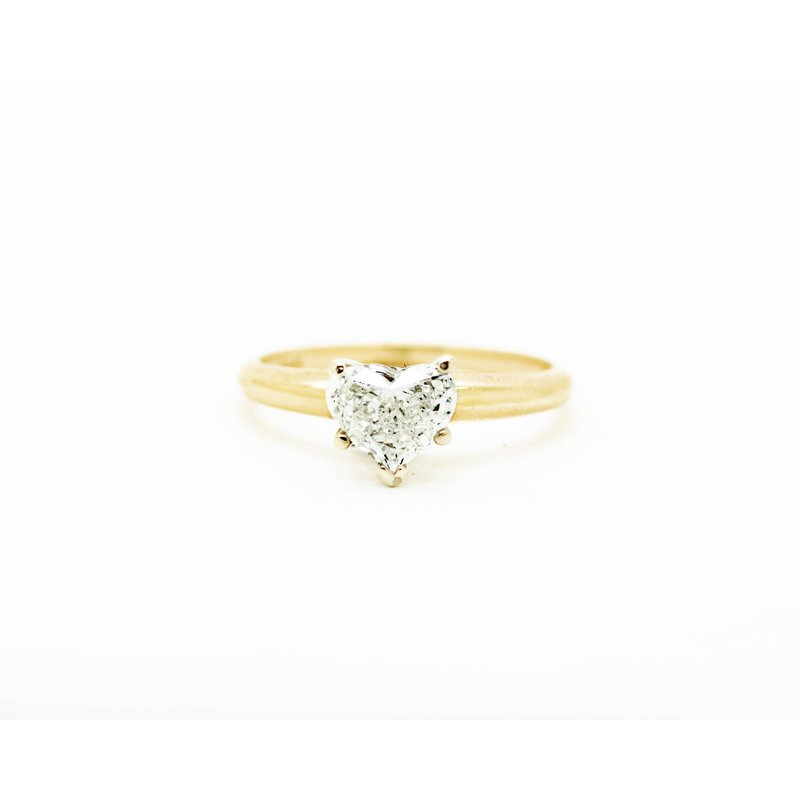 Jewelry Couture Exclusives Heart Cut Diamond Solitaire Engagement Ring