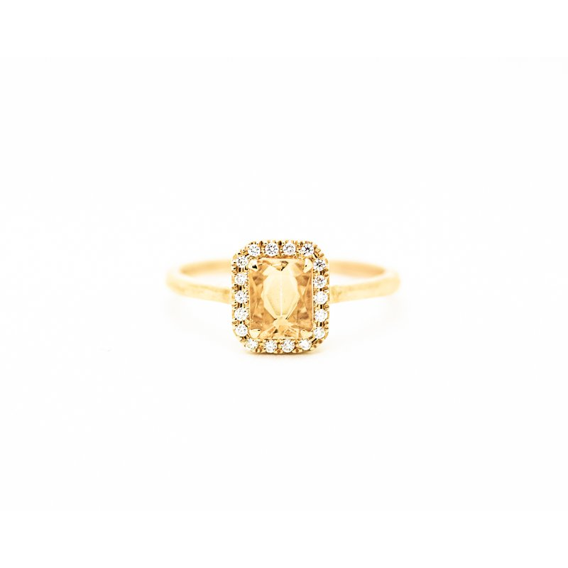 Jewelry Couture Exclusives Yellow Topaz Birthstone Ring