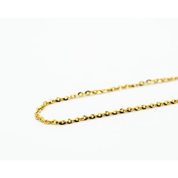 14k yellow gold link chain 20""