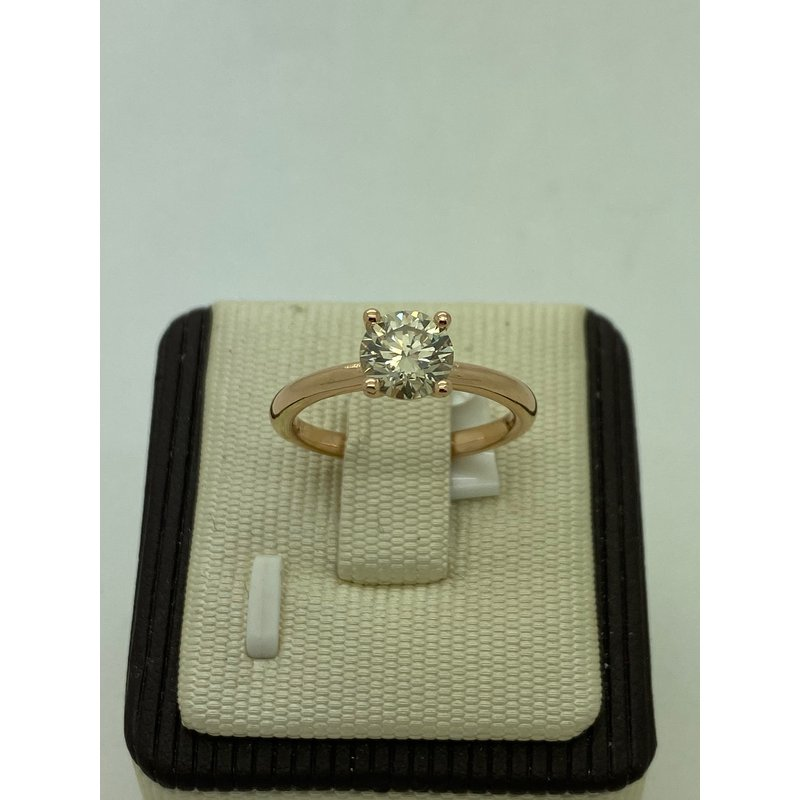 Jewelry Couture Exclusives Rose Gold 1.02CT Solitaire Engagement Ring