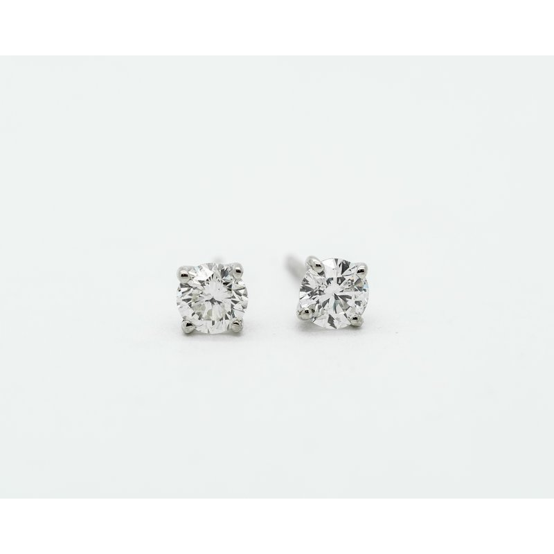 Jewelry Couture Exclusives 14k White Gold 0.48ct Diamond Studs